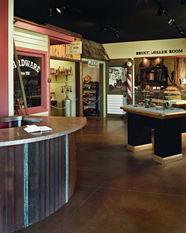 Granite Fals Museum Miller Room