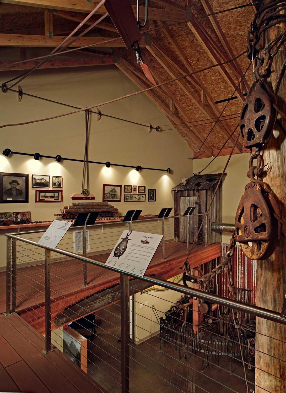 Granite Fals Museum Vaulted Ceilings