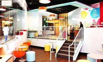 TCBY Seating